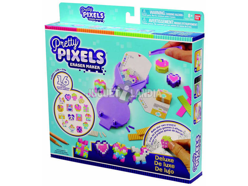 Pretty Pixels Pack DX Bandai 38530