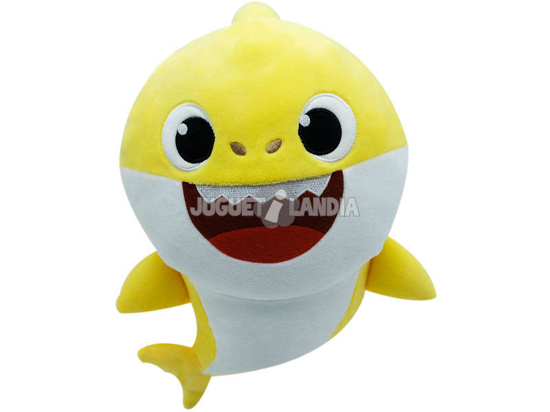 Baby Shark Peluche Musical Bandai SS92510