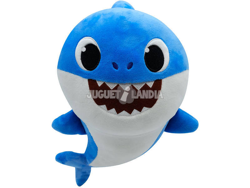 Baby Shark Peluche Musicale Famille Bandai SS92511