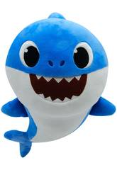 imagen Baby Shark Peluche Musical Familia Bandai SS92511
