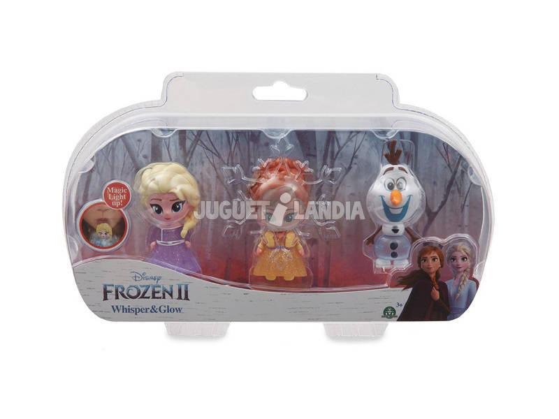 Frozen 2 Whisper & Glow 3 Figuras Giochi Preziosi FRN75000