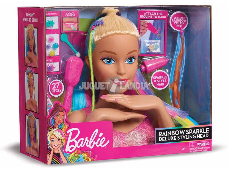 Barbie Rainbow Cabeça Deluxe Giochi Preziosi BAR33000