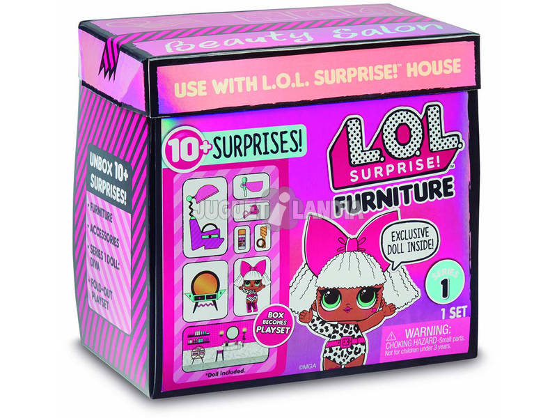Lol Surprise Furniture Salon Con Diva Giochi Preziosi LLU90000