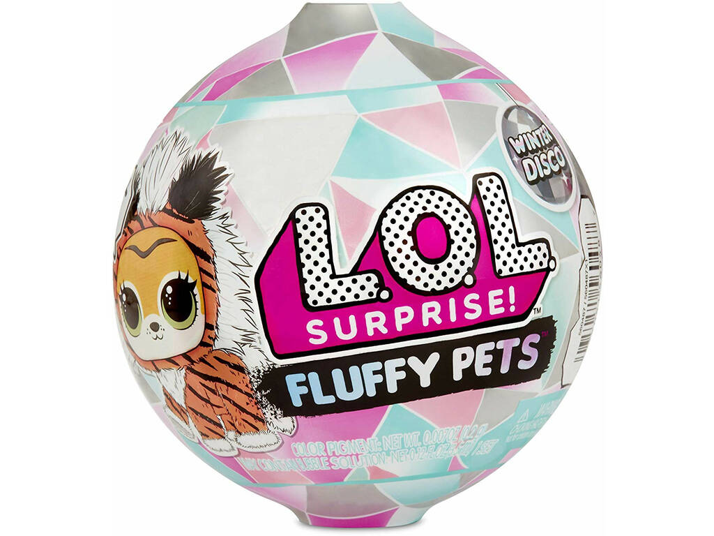 Lol Surprise S6 Fluffy Pets Winter Giochi Preziosi LLU86000