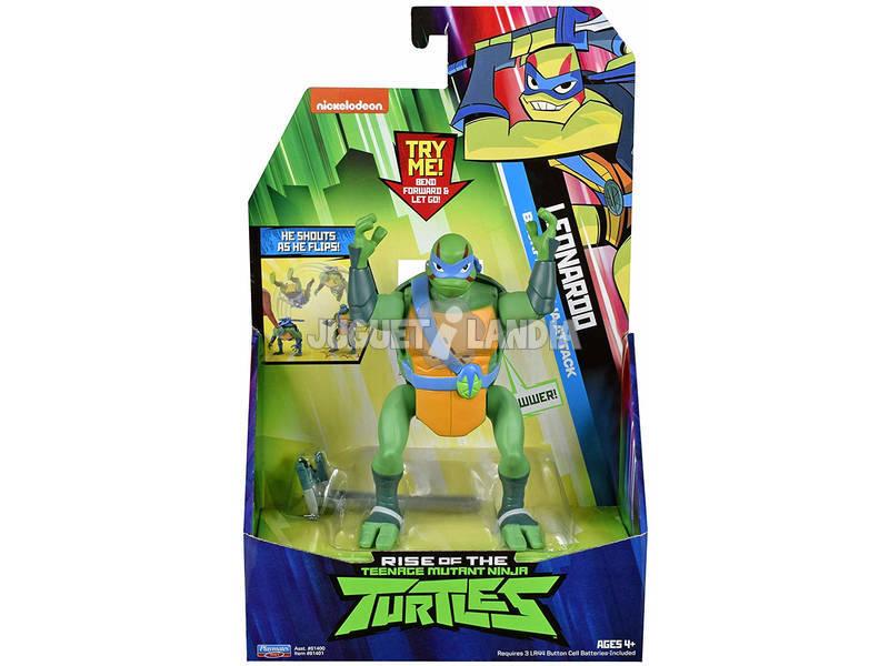 Tortugas Ninja The Rise Of The Tmnt Figura Deluxe Giochi Preziosi TUAB2511