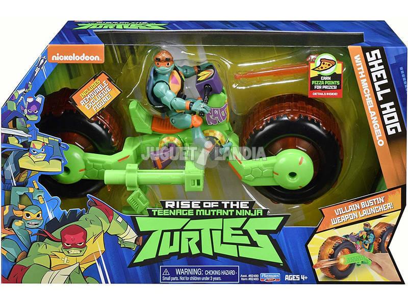 Tortugas Ninja The Rise Of The Tmnt Vehículo Giochi Preziosi TUAB5301