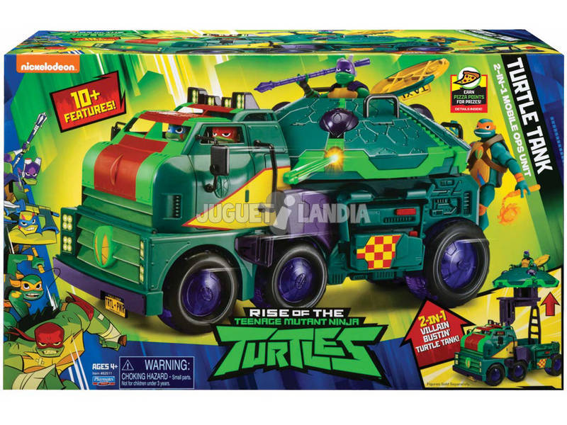 Tortues Ninja The Rise Of The Tmnt Turtle Tank Giochi Preziosi TUAB6101