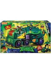 Tartarughe Ninja The Rise Of The Tmnt Turtle Tank Giochi Preziosi TUAB6101