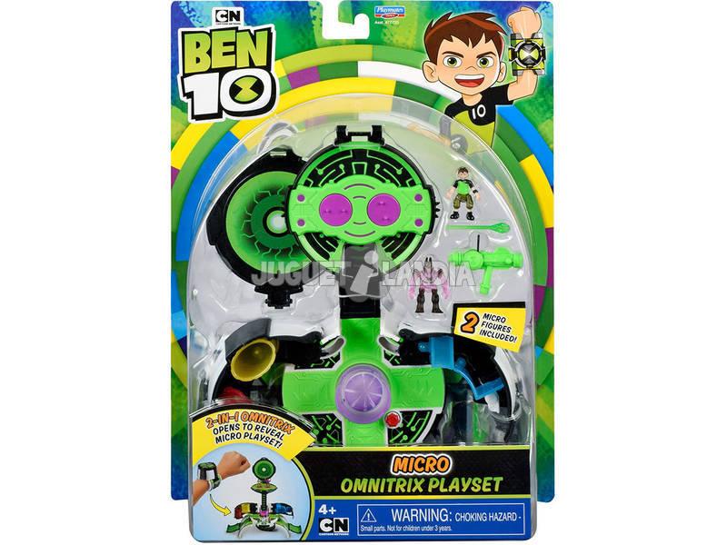 Ben 10 Omnitrix World Micro Station de Jeux Giochi Preziosi BEN41000