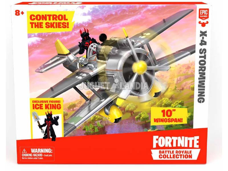 Fortinite X-4 Stormwing Con Figura Ice King Giochi Preziosi FRT39000