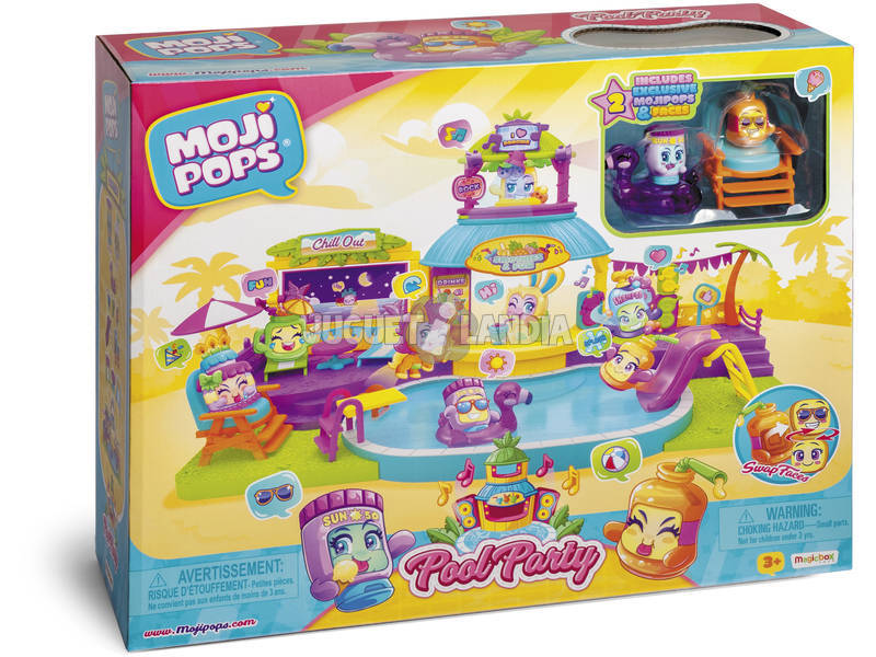 MojiPops Pool Party Magic Box PMPSP112IN10