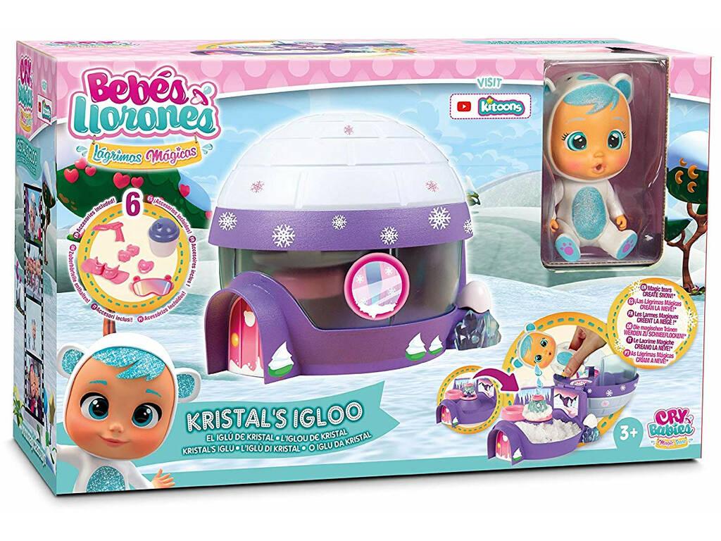 Bebés Llorones Lágrimas Mágicas Iglú De Kristal IMC Toys 90934