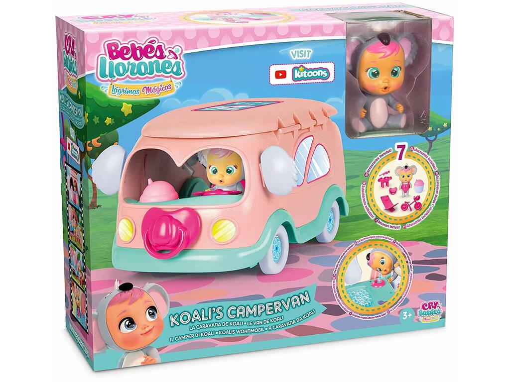 Bébés En Pleurs Larmes Magiques Caravane de Koala IMC Toys 91931
