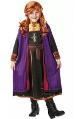 Costume Anna avec Perruque Frozen 2 Taille M Rubie's 300632-M