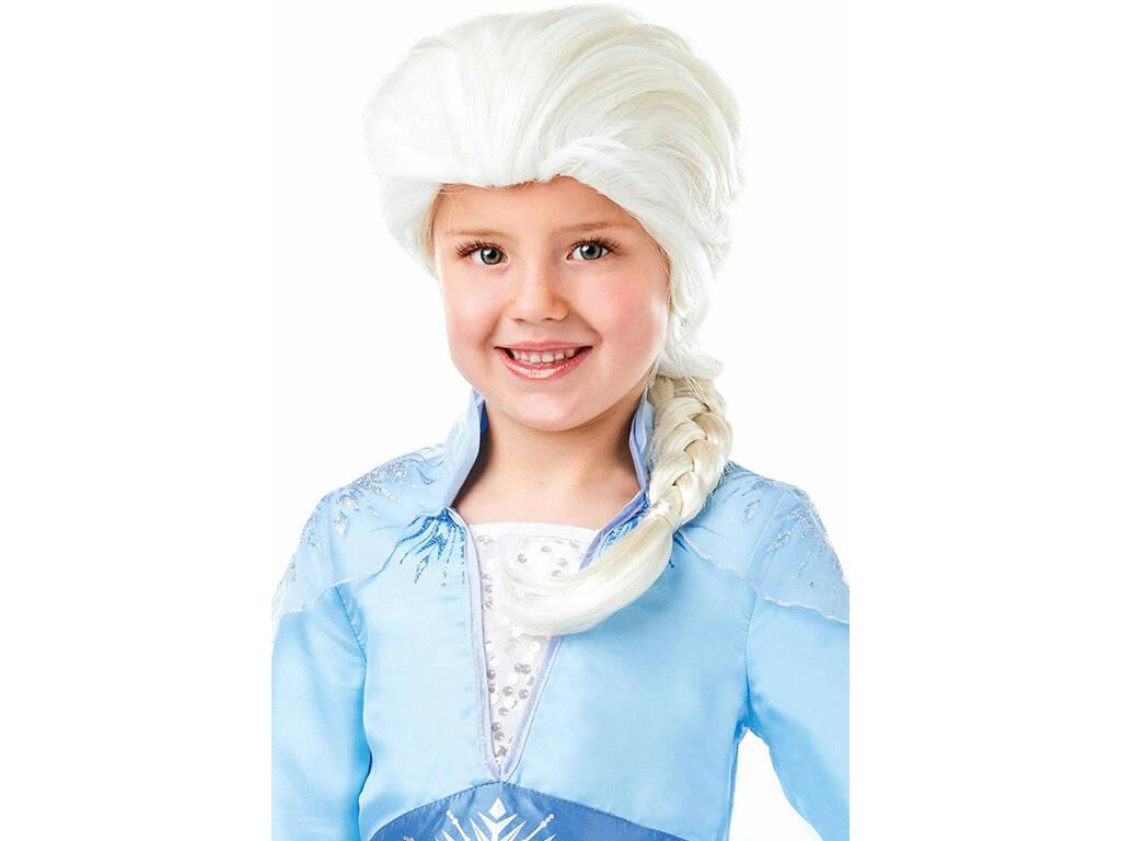 Peluca Elsa Frozen 2 Infantil Rubies 300471