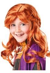 Frozen II Perruque Pour Enfants Anna Rubies 300473