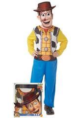 imagen Disfraz Infantil Woody con Máscara Talla M Rubie's 300441-M