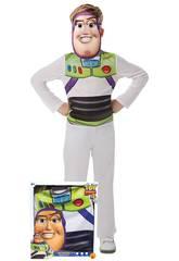 imagen Disfraz Infantil Buzz con Máscara Talla S Rubie's 300440-S