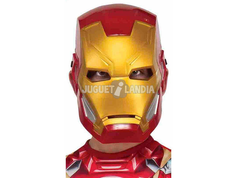 Máscara Infantil Avengers Iron Man Rubies 300148
