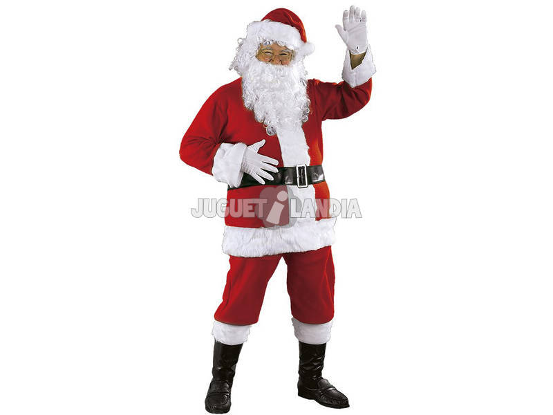 Costume Adulto Babbo Natale Deluxe Rubie's S8901