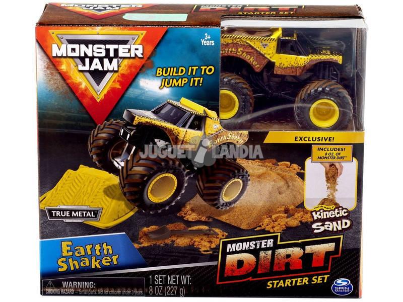 Monster Jam Kinetic Dirt Starter Set Bizak 6192 5875