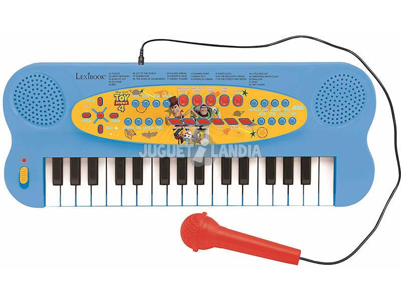 Toy Story 4 Teclado Electrónico 32 Teclas con Microfono Lexibook K703TS