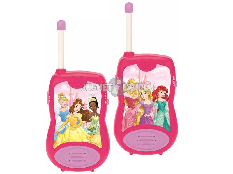 Princesas Disney Walkie Talkies Lexibook TW12DP
