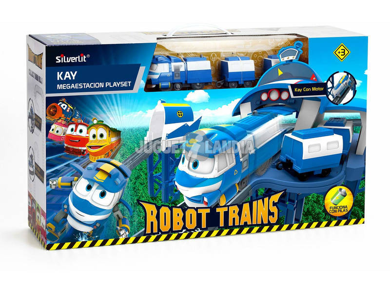 Robot Trains Estación De Kay Bizak 62000170