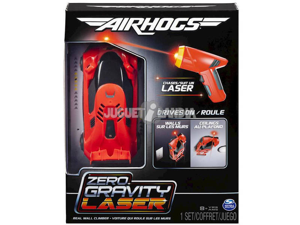 Radio Control Air Hogs Zero Gravity Laser Racer Bizak 61924369 Teledirigido