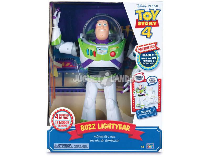 Toy Story 4 Buzz Lightyear Super Interattivo Bizak 61234432