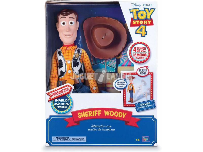 Toy Story 4 Woody Súper Interactivo Bizak 6123 4431