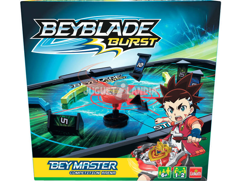 Beyblade Beymaster Competition Sabbia Goliath 108699