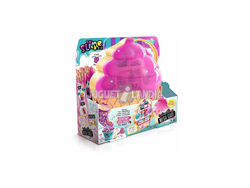 Slime Mega Valigetta Slimelicious Canal Toys SSC062