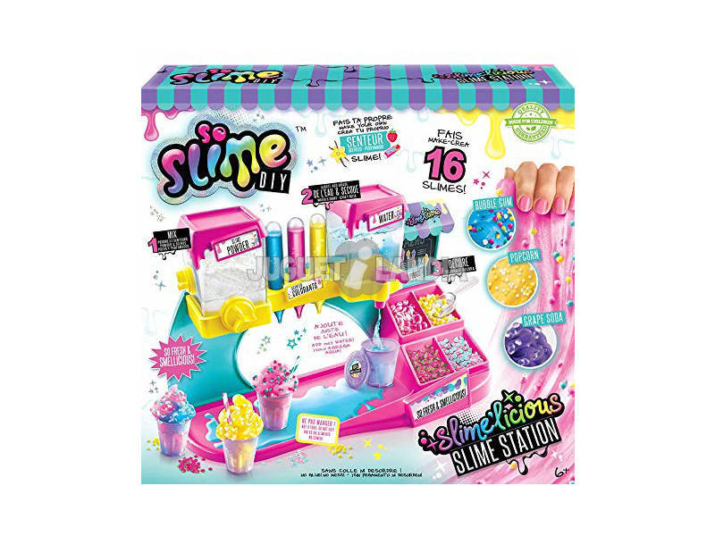 Usine Slime Slimelicious Canal Toys SSC051