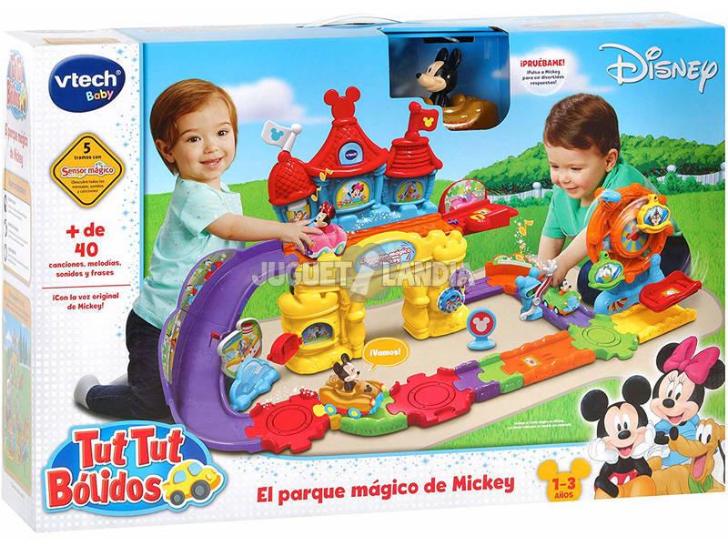 Tut Tut Bólidos El Parque Mágico De Mickey Vtech 512422