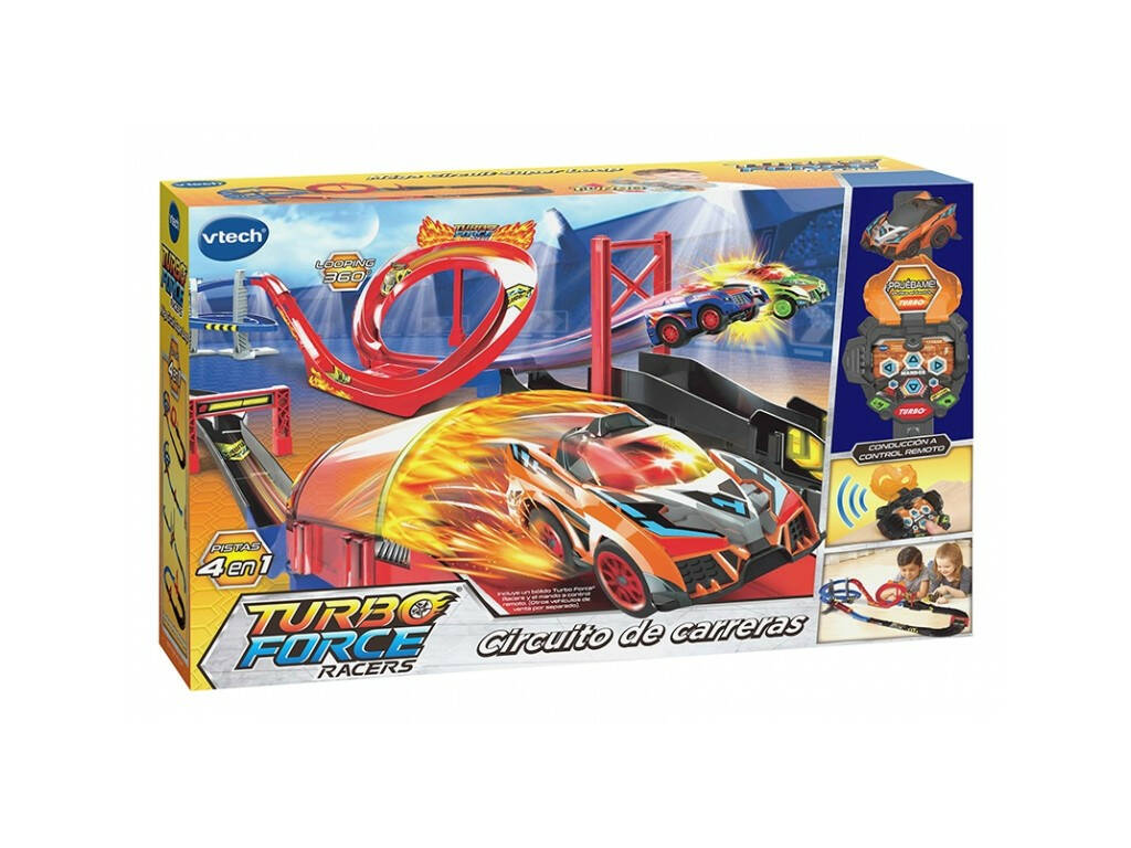 Circuito Di Gara Turbo Force Racers Vtech 517522