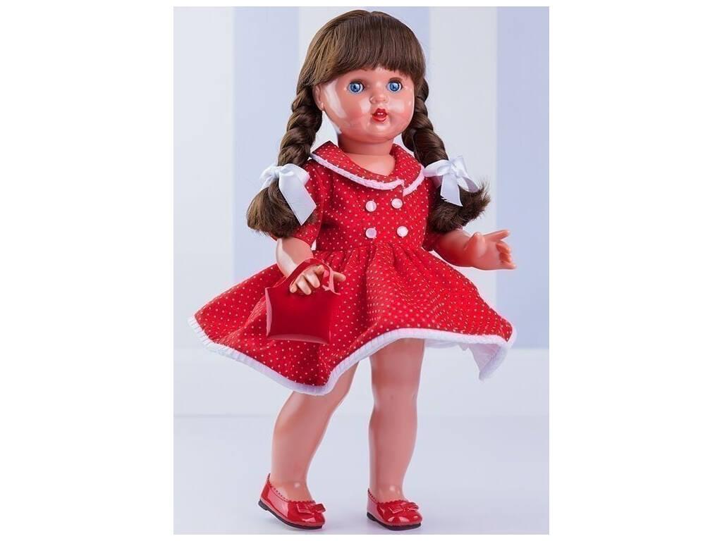 Mariquita Pérez Vestido Vermelho Pontos Mariquita Pérez MP50230
