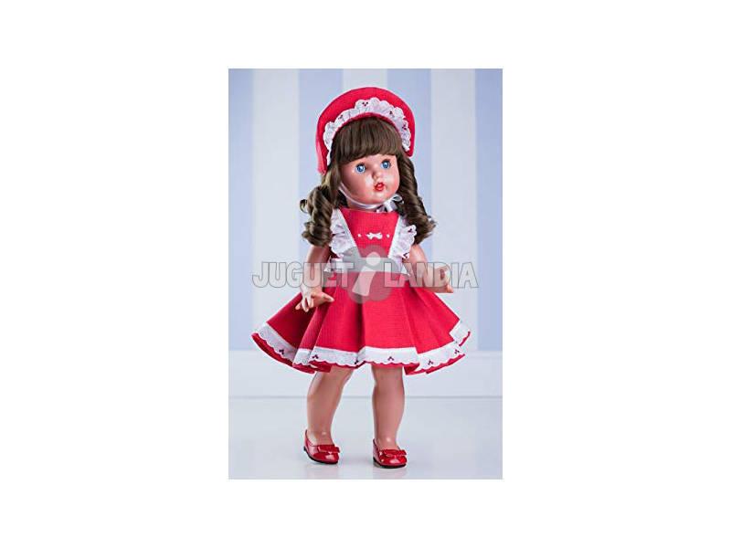 Vestido Rojo con Capota Mariquita Pérez MP20210