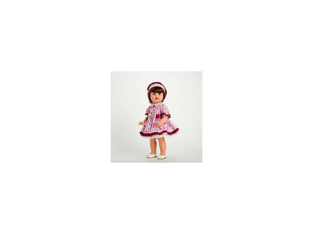 Completo Vestito Fiori Violetta Mariquita Pérez MP20236