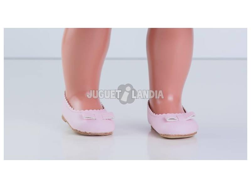 Sapatos Pele Cor-de-Rosa Mariquita Pérez MP30039