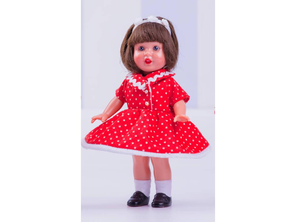 Mini Mariquita Pérez Vestido Vermelho Pontos Mariquita Pérez MM60112