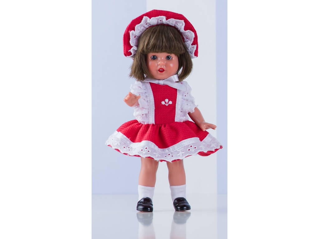 Mini Vestido Rojo Mariquita Pérez MM20105