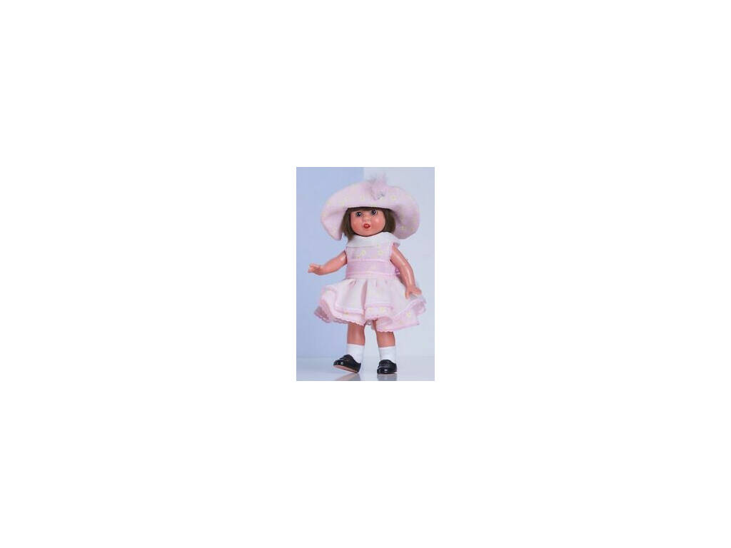 Mini Vestido Época Cor-de-Rosa Mariquita Pérez MM20110