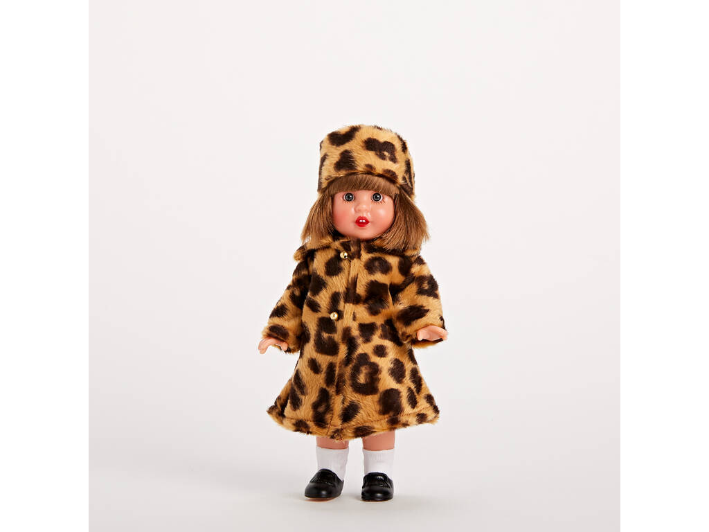 Mini Conjunto Abrigo Leopardo Mariquita Pérez MM20115
