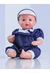 imagen Mini Juanin Bebé Pelele Marino Mariquita Pérez MJB05060