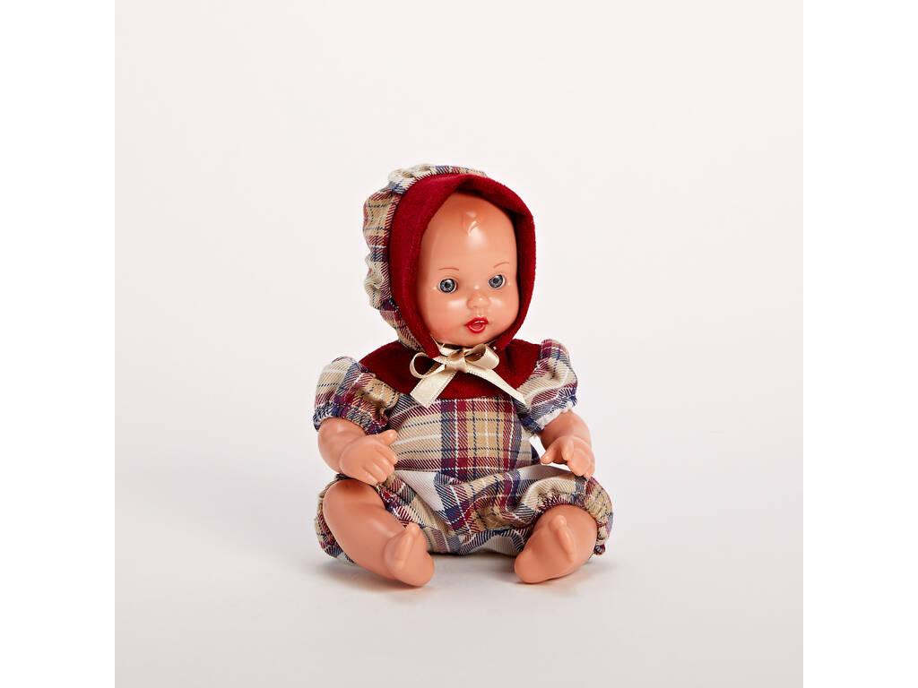 Mini Juanín Bebé Conjunto Época Burdeos Mariquita Pérez MJB05062