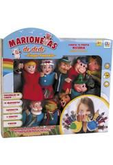 Set 12 Marionette Dito Favole per bambini