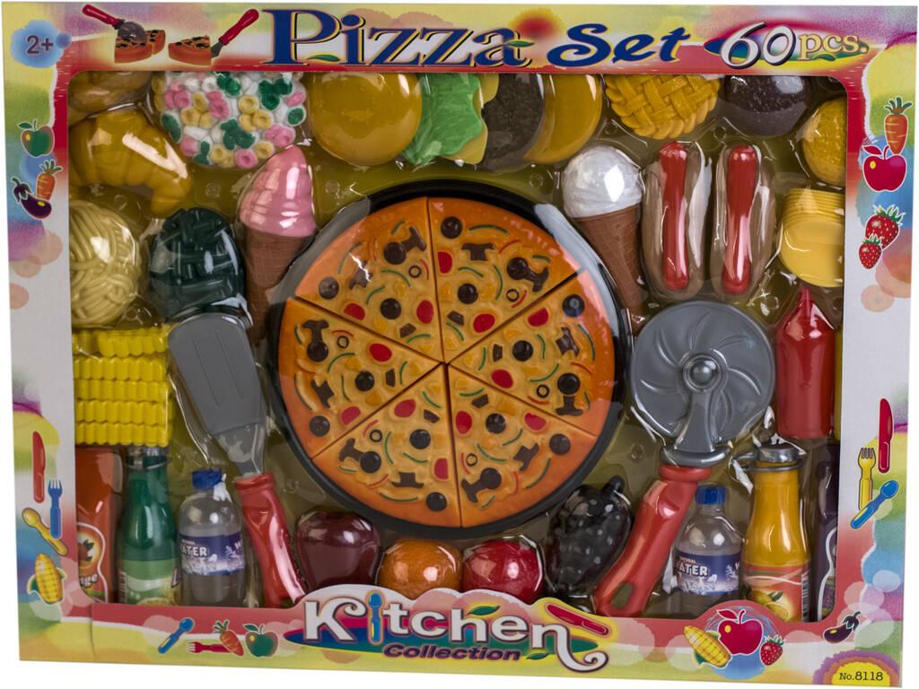 Set Pizza 60 Piezas