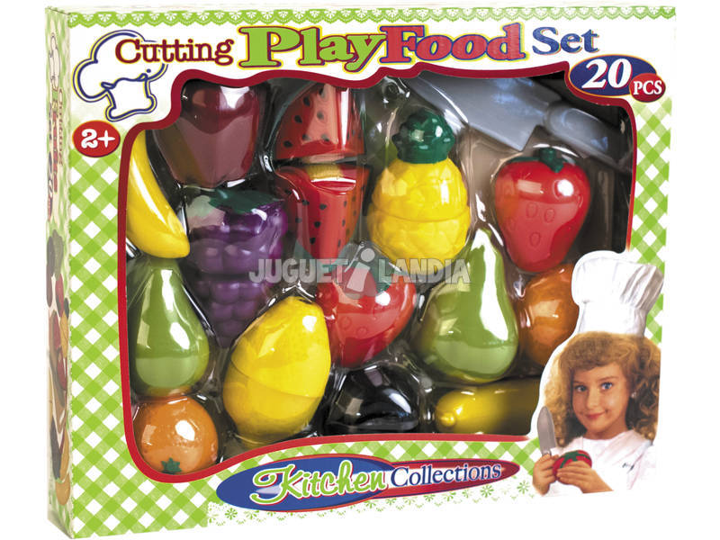 Kit Fruits 20 Pièces