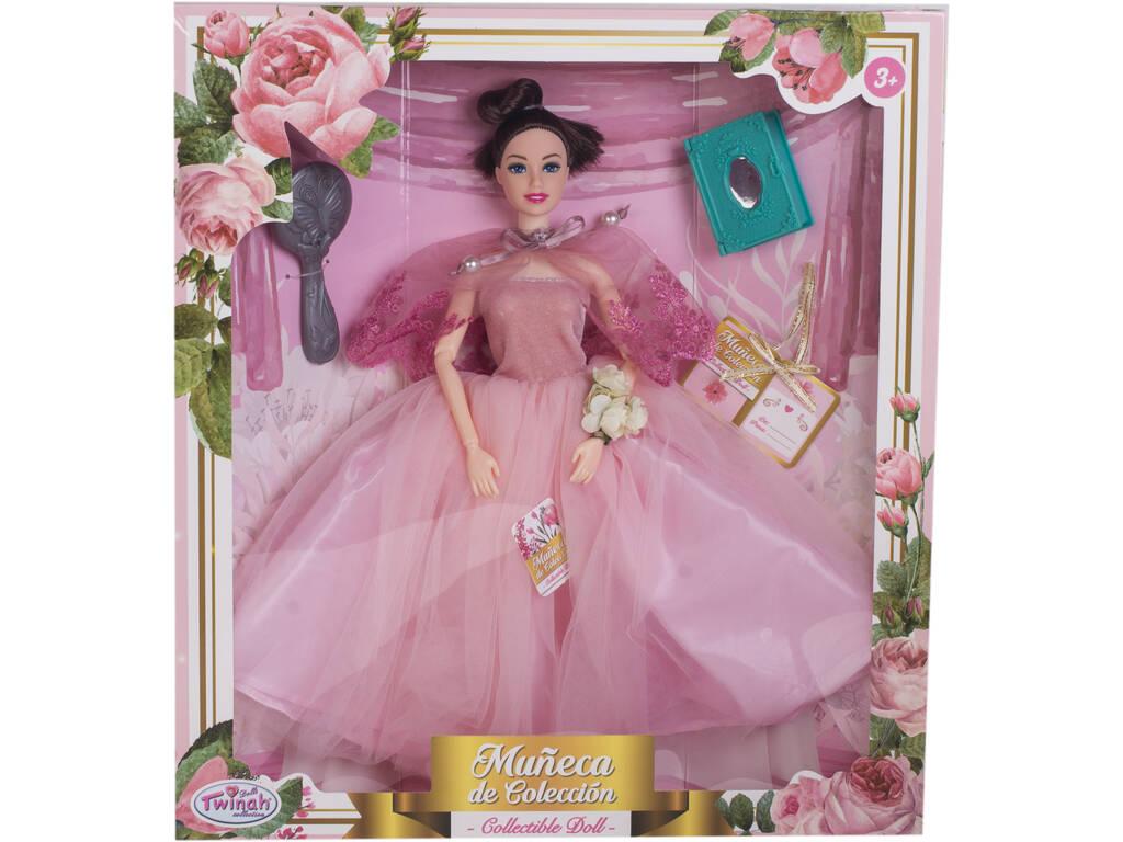 Muñeca Maniquí Colección 29 cm. Rosa Boda con Accesorios